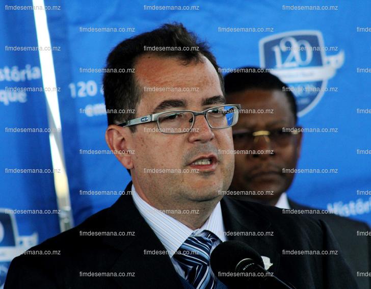 Antonio Coutinho Administrador Delegado do Standard Bank