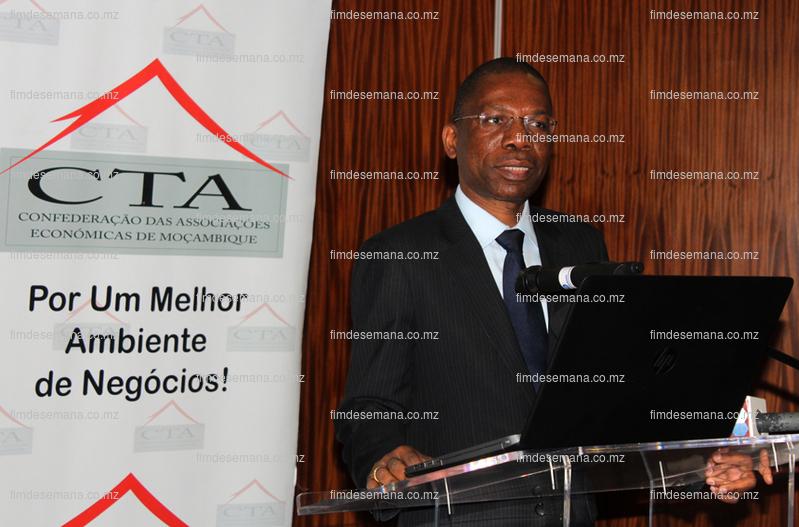 Gabriel Muthisse Ministro dos Transportes e Comunicacoes