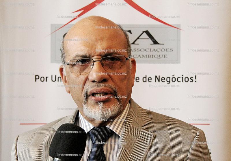 Kekobad Patel - Presidente do Pelouro da Política Fiscal - Aduaneira e Comércio Internacional