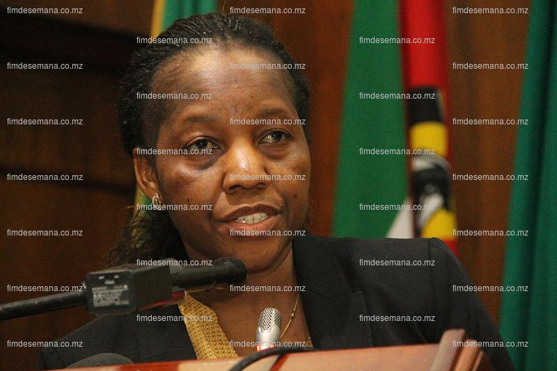 Laura Nhancale - Diretora de Estudos e Planeamento do Ministério da Energia