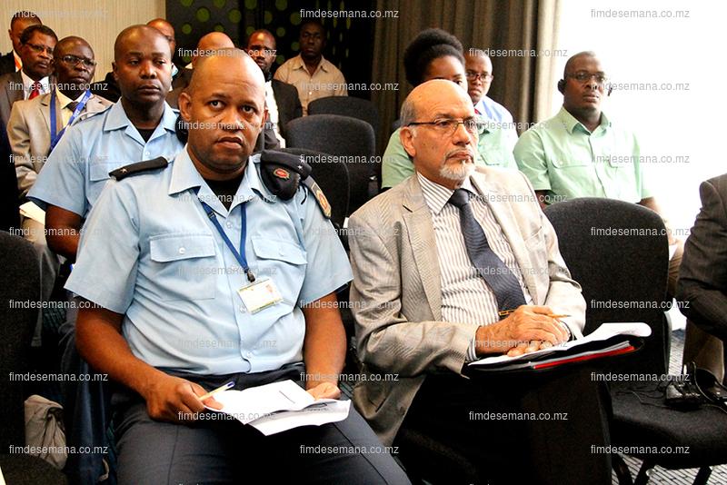 Paerticipantes presentes no seminário de apresentação do Estudo sobre Inspecção Pré Embarque em Moçambique