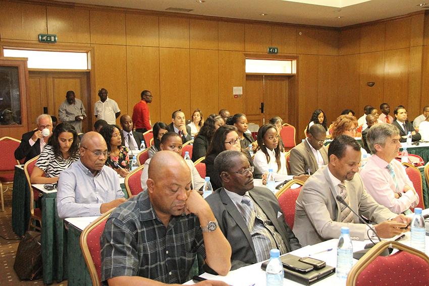 Participantes no Seminario sob tema Turismo em Mocambique face ao crescimento dos recursos naturais