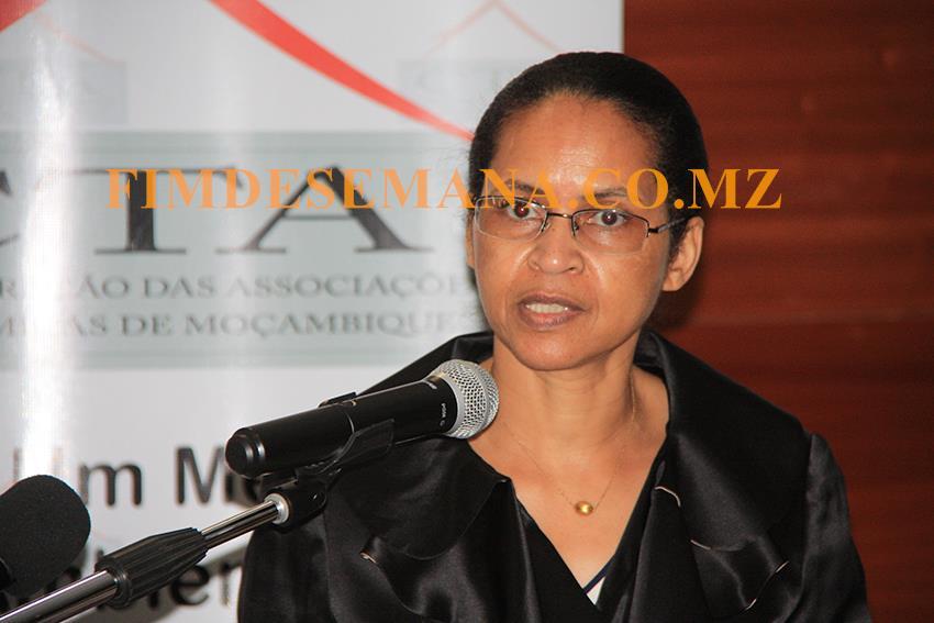 Cerina Banu Mussá secretária Permanente do Ministério da Indústria e Comércio