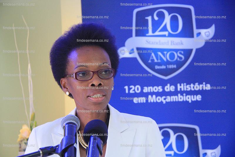 Carla Timóteo - Directora da Filial de Maputo do Banco de Moçambique
