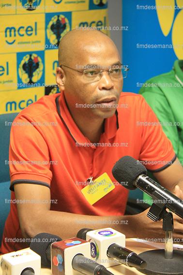 Gervásio de Jesus - representante da Federação Moçambicana de Futebol