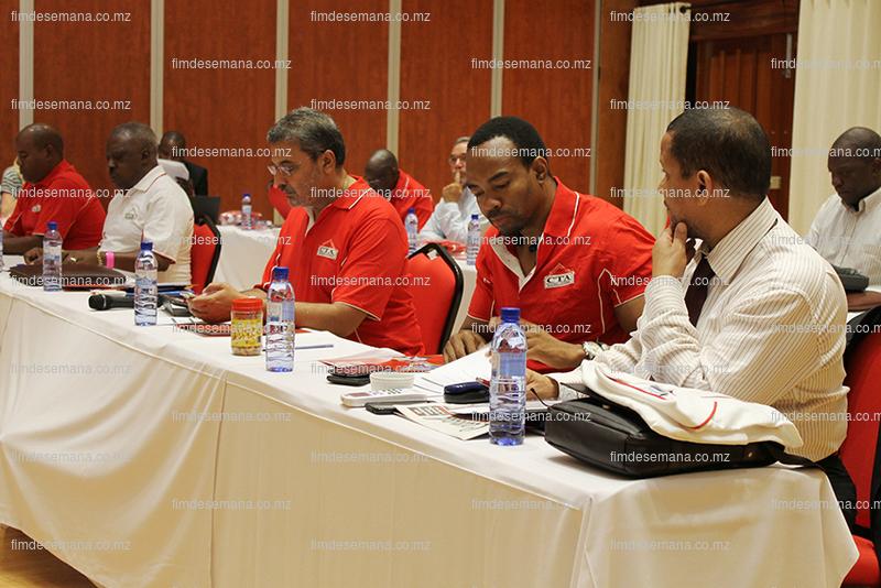 Membros da CTA no retiro de reflexão estratégica da organização