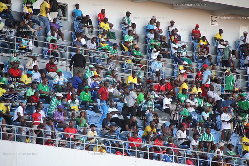 Público presente na Final da Taça Moçambique Mcel