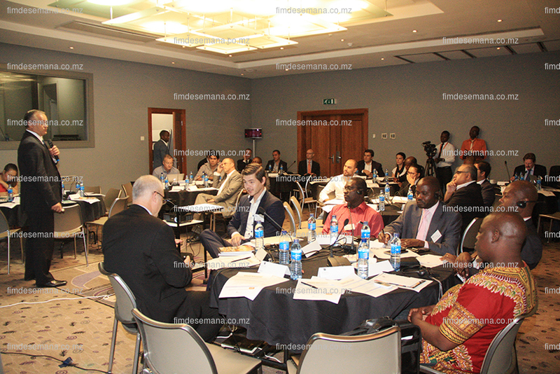 Participantes na Conferência de Investimento Imobiliário em Moçambique