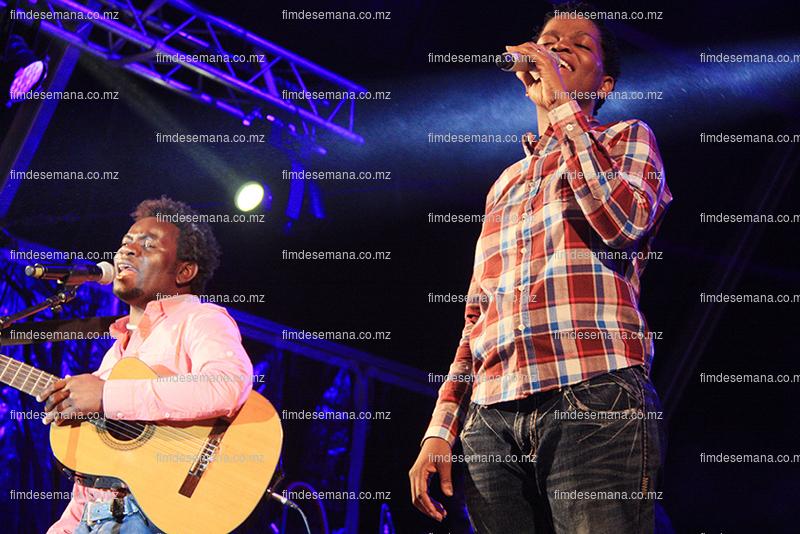 Yolanda Kakana e Sérgio Muiambo