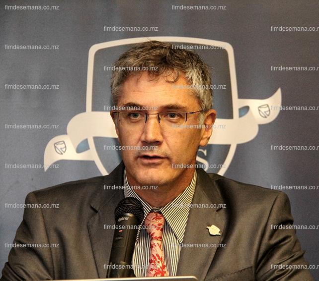 Andre Du Plessis - Director da Banca Corporativa e de Investimentos do Standard Bank