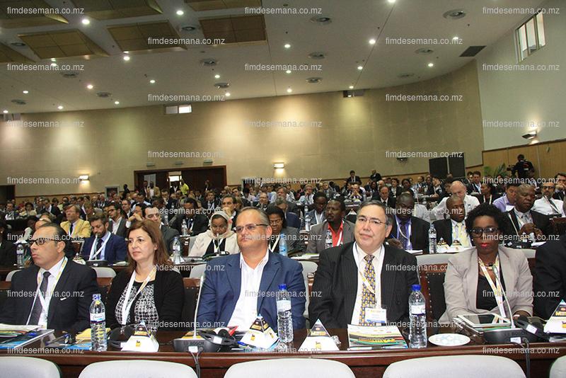 Participantes a Cimeira Mozambique Gas Summit 1