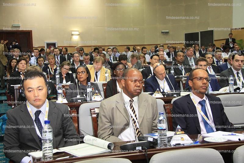 Participantes na Cimeira Mozambique Gas Summit