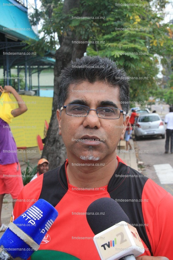 Shafee Sidat - Presedente da Federação Moçambicana de Atletismo