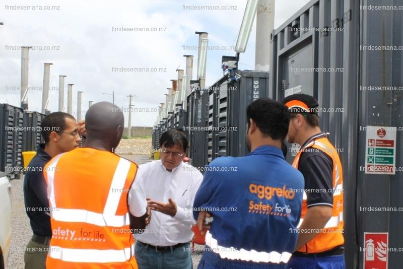 Administrador Executivo da EDM no centro trocando impressões com os técnicos