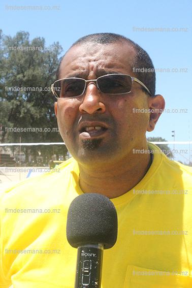 Kalid Cassamo Presidente da Federação Moçambicana de Voleibol da praia