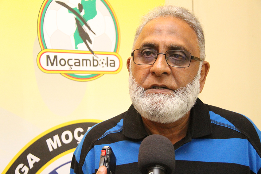 Mahomed Makda  representante da Liga Desportiva de Maputo