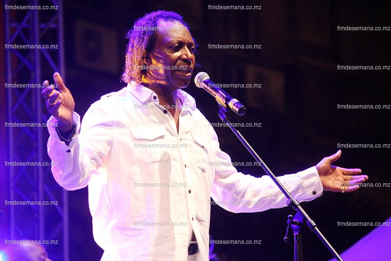 Pedro Ben - músico participante no Festival da Marrabenta