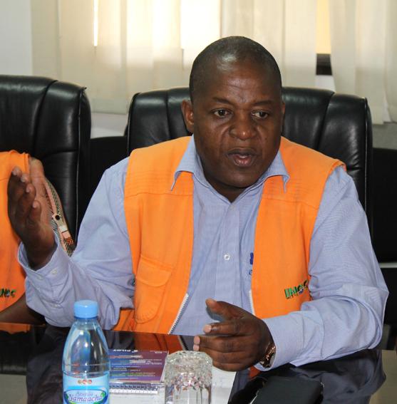 Higino Rodrigues - Director Nacional do Gabinete de Coordenação de Reconstrução do INGC
