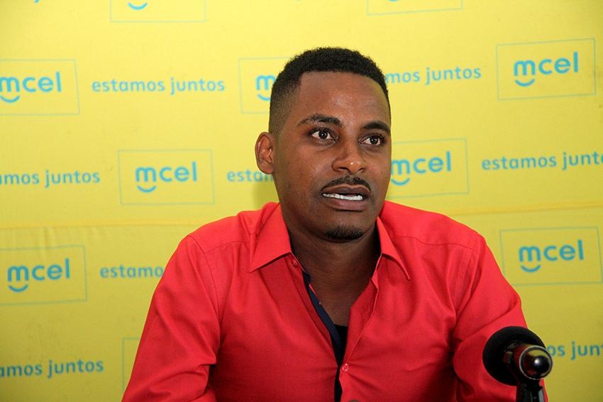 Humberto Luís - representante dos artistas nacionais
