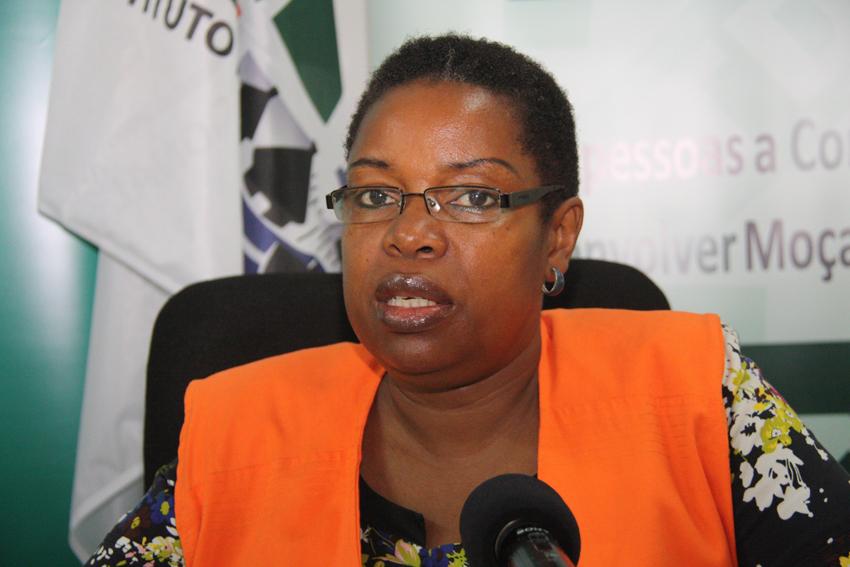 Marta Manjate - Directora das Zonas Áridas e Semi-Áridas  do INGC