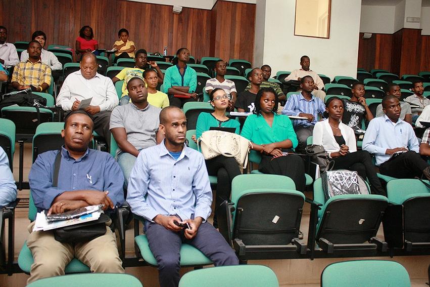 Participantes do Seminário Jovem Milénio