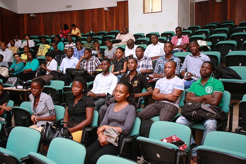 Participantes do Seminário Jovem Milénio 1