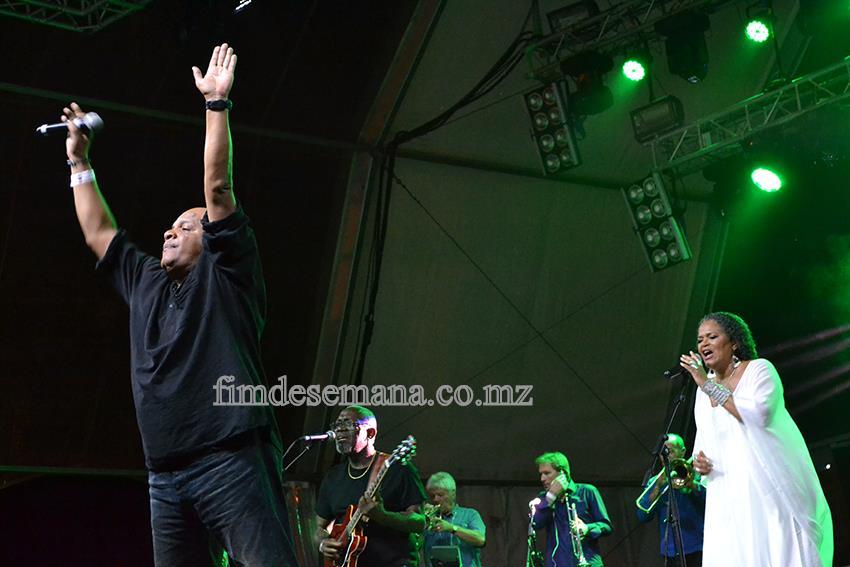 Kassav em concerto no festival zouk