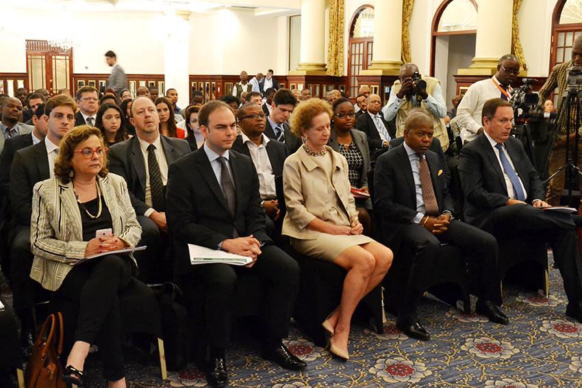 Participantes no seminário sobre oportunidades de negócio Brasil-Moçambique