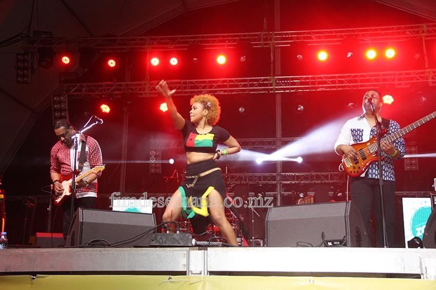 Tabanka Djazz em concerto no festival zouk