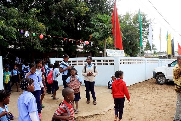 Vista parcial da Escola Primaria 25 de Junho