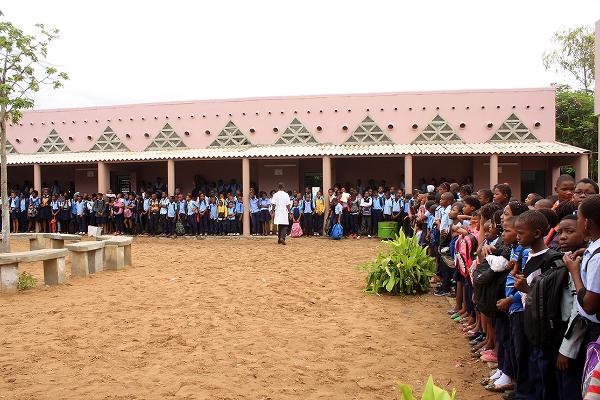 Vista parcial da Escola Primaria 25 de Junho 3