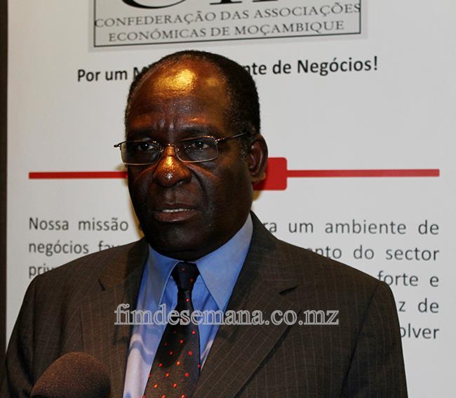 António Laíce - representante do Ministério da Economia e Finanças
