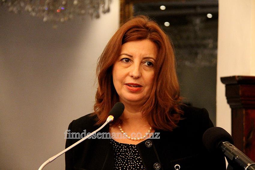 Aylin Tashan - Embaixadora da Turquia em Moçambique