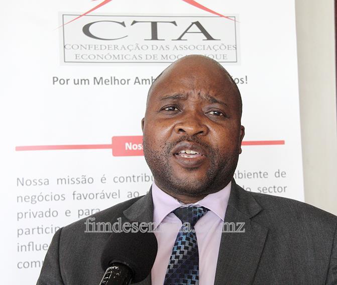 Eduardo Macuácua - Director Executivo Adjunto da CTA