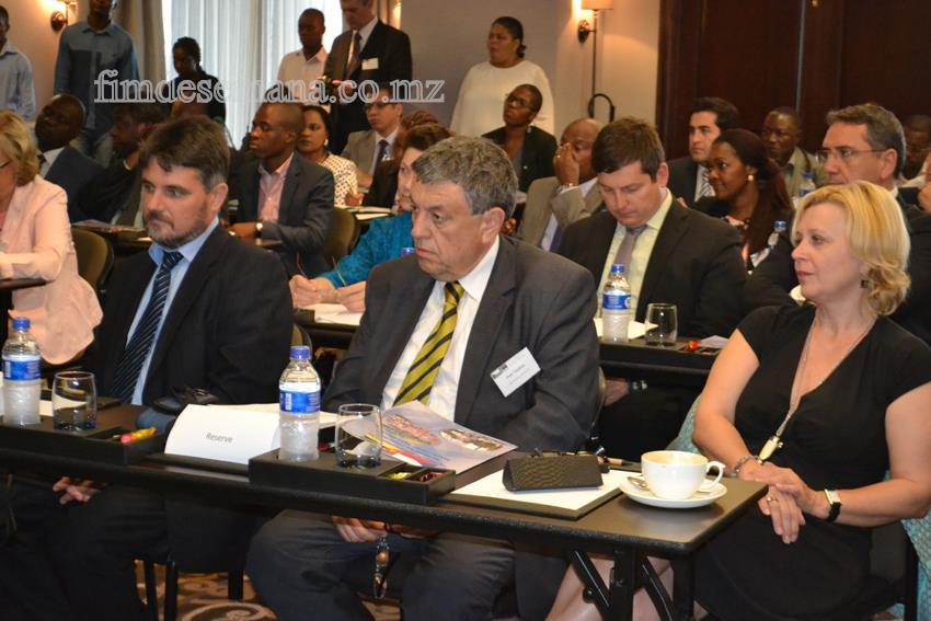 Participantes do Fórum de Negócios Moçambique República Checa