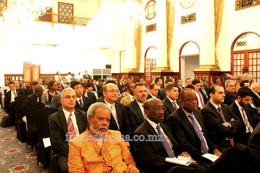 Participantes no Fórum de Negócios para o Sector da Construção