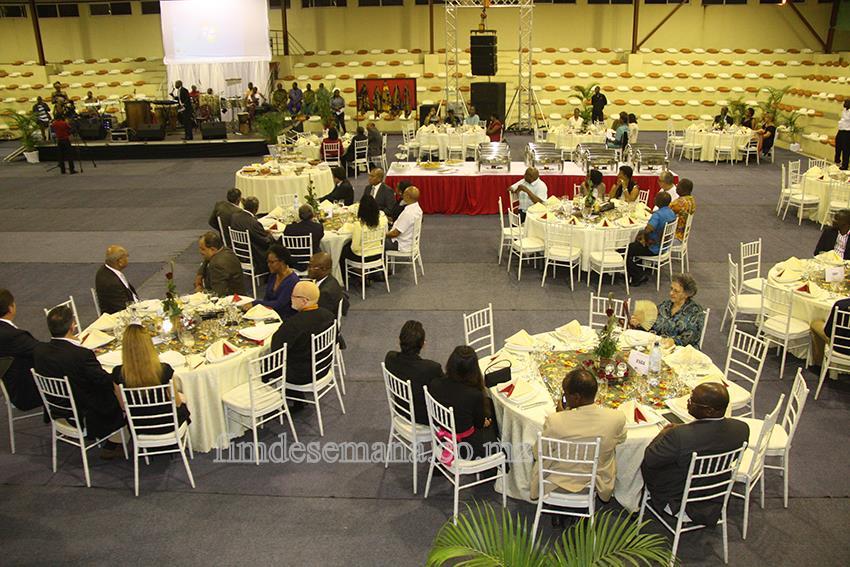 Participantes no Jantar Venha jantar com o Reitor