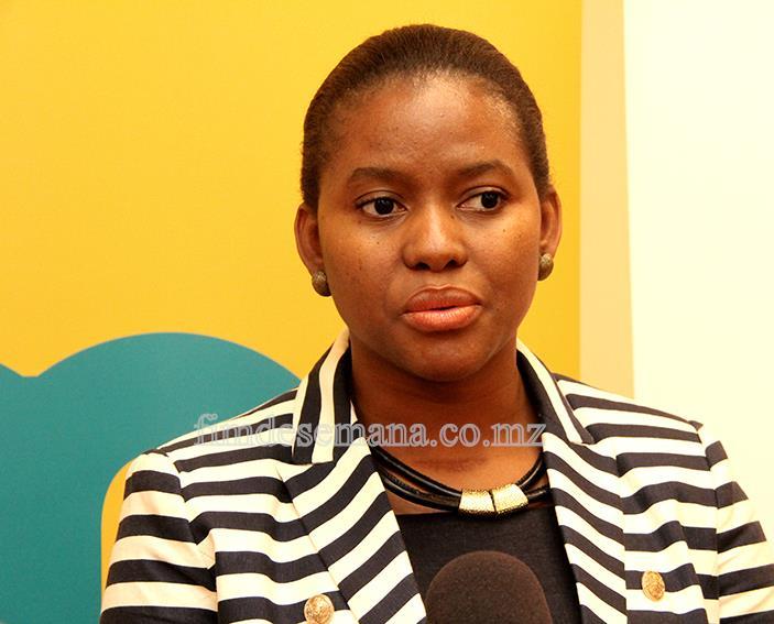 Felícia Nhama - representante da mcel