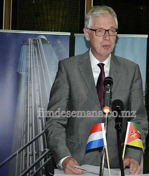 Joep Athmer - Representante da Delegação Empresarial Holandesa