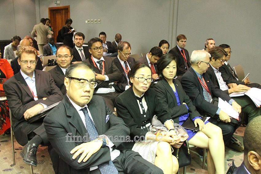 Participantes no Fórum de Negócios Moçambique-Singapura 1