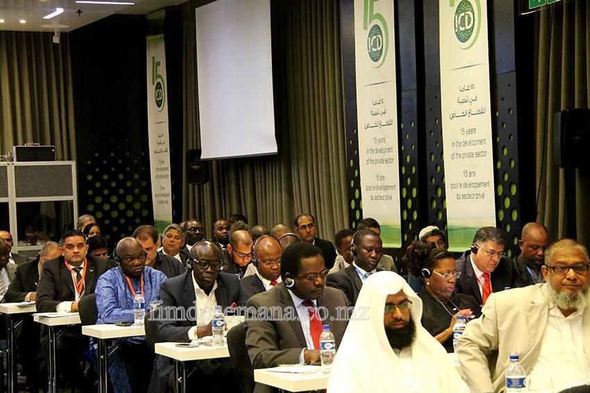 Participantes no Fórum do Sector Privado com Banco Islâmico