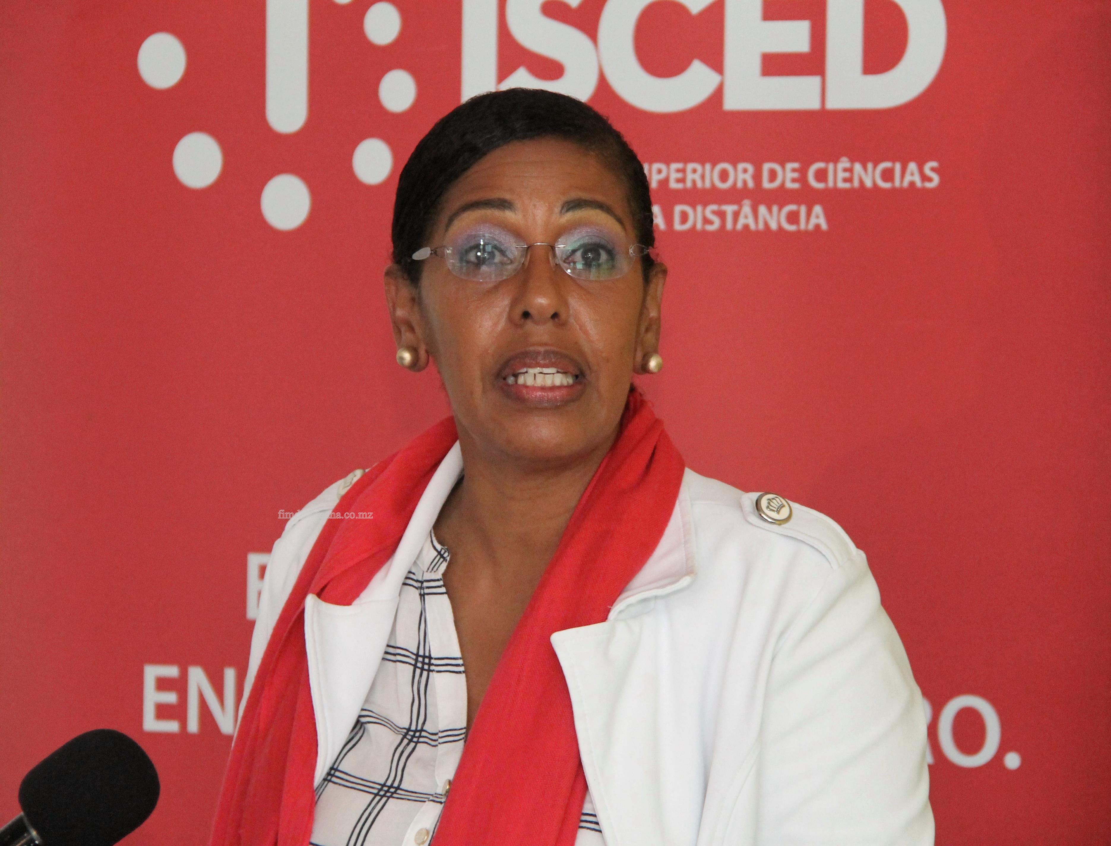 Sandra Brito - Directora Nacional do Ensino Superior no Ministerio da Ciencia Tecnologia Ensino Superior e Tecnico Profissional