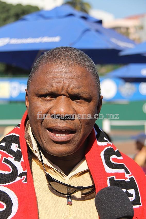 Valige Taubo - Presidente da Federação Moçambicana de Ténis