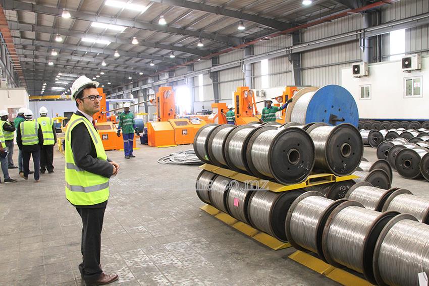 Visita da Associação Industrial Portuguesa ao Parque Industrial de Beleluane