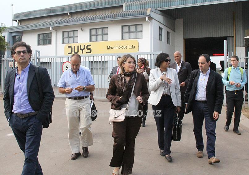 Visita da Associação Industrial Portuguesa ao Parque Industrial de Beleluane 1