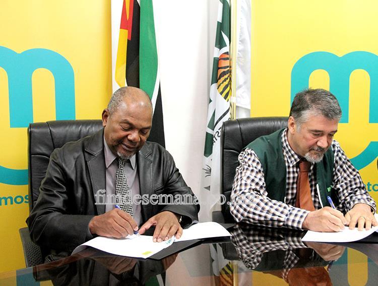 Assinatura do Memorando de Entendimento entre mcel e INGC