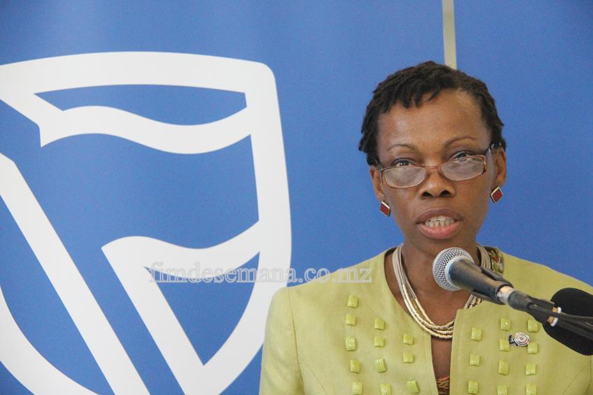 Carla Timóteo -Directora da Filial de Maputo do Banco de Moçambique