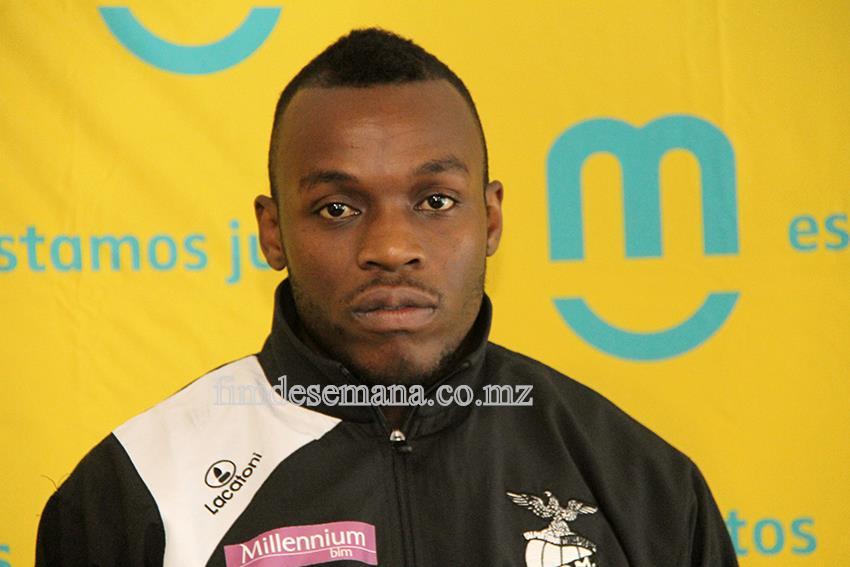 David Canivete Júnior - vice-capitão da equipa de basquetebol do Clube Desportivo de Maputo