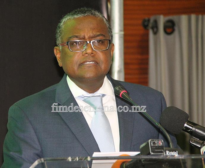 Omar Mithá - Vice-ministro da Indústria e Comércio