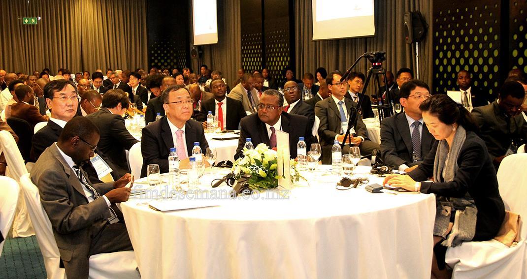 Participantes no Fórum de Cooperação Industrial Moçambique-Coreia 1